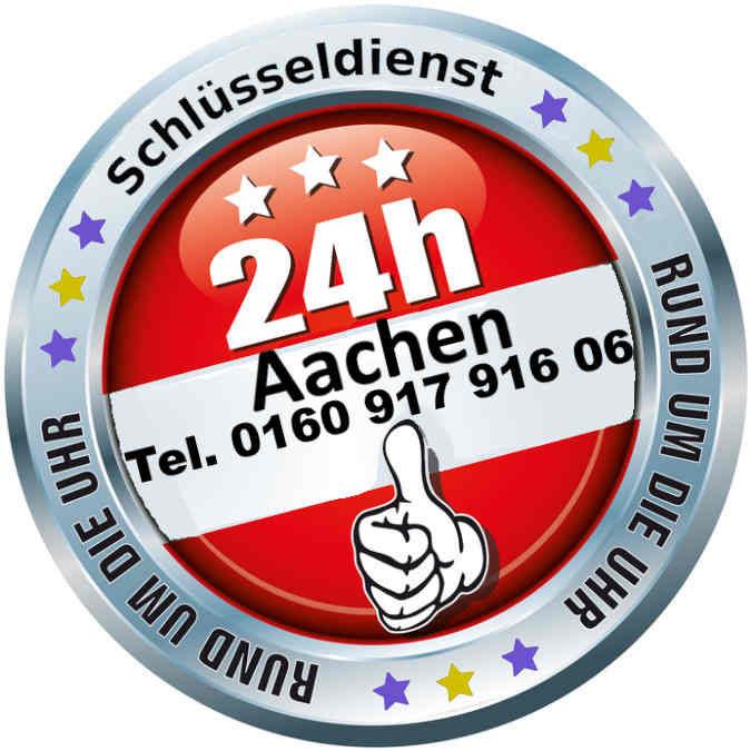 Schlüsseldienst Aachen Notdienst Tag und Nacht zum 50 Euro Festpreis im Kreis Aachen