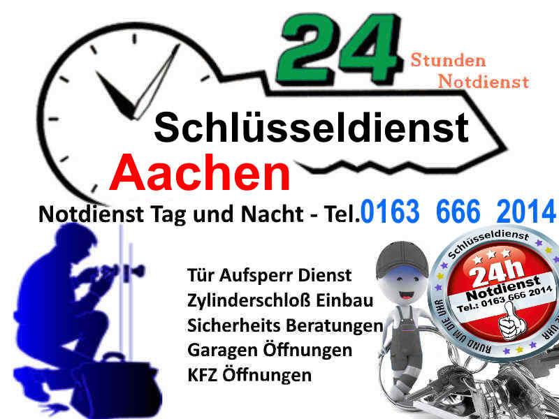 Schlüsseldienst Aachen Würselen Eschweiler Herzogenrath sowie Schlüsseldienst Geilenkirchen Alsdorf Jülich
