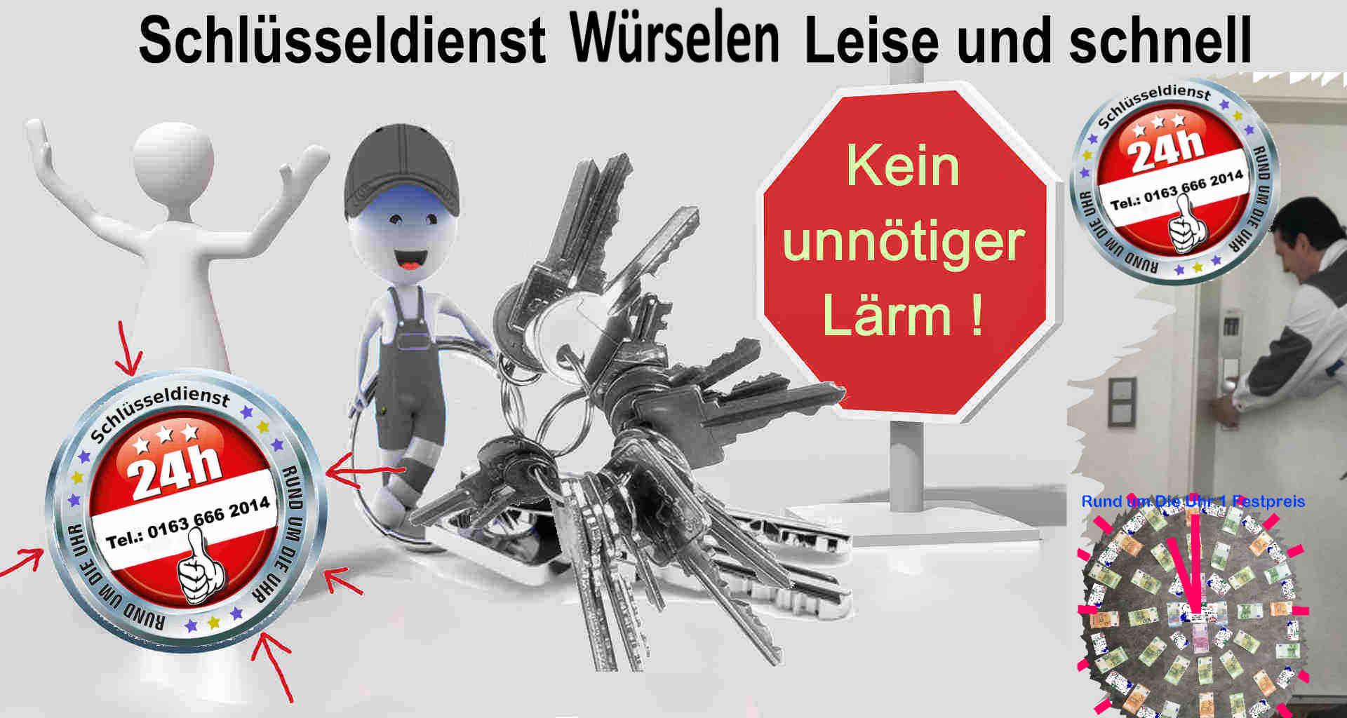 Schlüsseldienst Würselen - Schnell - Leise und Diskret - Tür Öffnen in Würselen zum 50 Euro Festpreis